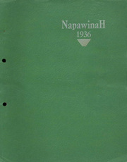 1936 Edition, Napavine High School - Napawinah Yearbook (Napavine, WA)