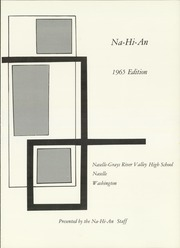 Page 5, 1965 Edition, Naselle Grays River Valley High School - Na Hi An Yearbook (Naselle, WA) online yearbook collection
