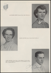 Page 10, 1958 Edition, La Conner High School - Pioneer Yearbook (La Conner, WA) online yearbook collection
