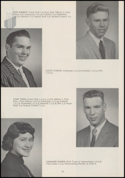 Page 14, 1958 Edition, La Conner High School - Pioneer Yearbook (La Conner, WA) online yearbook collection