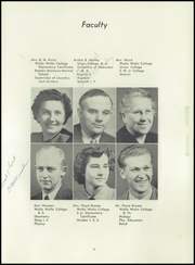 Page 15, 1950 Edition, Columbia Adventist Academy - Vine Maple Yearbook (Battle Ground, WA) online yearbook collection