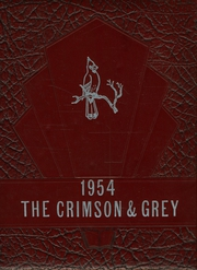 1954 Edition, Waitsburgh High School - Crimson and Gray Yearbook (Waitsburg, WA)