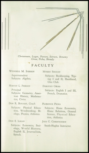 Page 9, 1939 Edition, Pe Ell High School - Pe Shell Yearbook (Pe Ell, WA) online yearbook collection