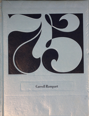 1975 Edition, Carroll High School - Rampart Yearbook (Yakima, WA)