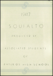 Page 5, 1947 Edition, Pateros High School - Squi Alto Yearbook (Pateros, WA) online yearbook collection
