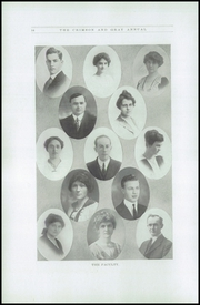 Page 12, 1916 Edition, Chehalis High School - Chehalin Yearbook (Chehalis, WA) online yearbook collection
