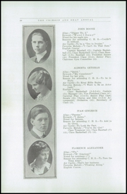 Page 16, 1916 Edition, Chehalis High School - Chehalin Yearbook (Chehalis, WA) online yearbook collection