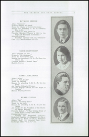 Page 17, 1916 Edition, Chehalis High School - Chehalin Yearbook (Chehalis, WA) online yearbook collection
