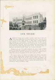 Page 13, 1929 Edition, Chehalis High School - Chehalin Yearbook (Chehalis, WA) online yearbook collection