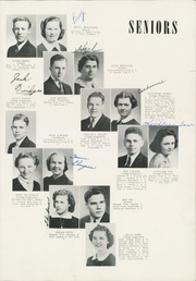 Page 17, 1939 Edition, Chehalis High School - Chehalin Yearbook (Chehalis, WA) online yearbook collection