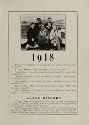 Page 13, 1917 Edition, Oakville High School - Tillicum Yearbook (Oakville, WA) online yearbook collection
