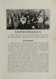 Page 15, 1917 Edition, Oakville High School - Tillicum Yearbook (Oakville, WA) online yearbook collection