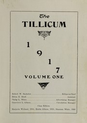 Page 3, 1917 Edition, Oakville High School - Tillicum Yearbook (Oakville, WA) online yearbook collection