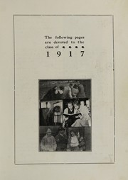 Page 5, 1917 Edition, Oakville High School - Tillicum Yearbook (Oakville, WA) online yearbook collection