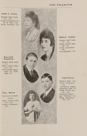 Page 11, 1918 Edition, Oakville High School - Tillicum Yearbook (Oakville, WA) online yearbook collection