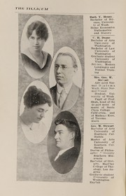 Page 4, 1918 Edition, Oakville High School - Tillicum Yearbook (Oakville, WA) online yearbook collection