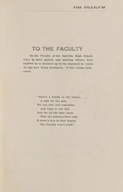 Page 5, 1918 Edition, Oakville High School - Tillicum Yearbook (Oakville, WA) online yearbook collection