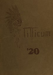 Page 1, 1920 Edition, Oakville High School - Tillicum Yearbook (Oakville, WA) online yearbook collection