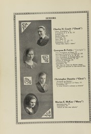 Page 14, 1921 Edition, Oakville High School - Tillicum Yearbook (Oakville, WA) online yearbook collection