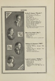 Page 15, 1921 Edition, Oakville High School - Tillicum Yearbook (Oakville, WA) online yearbook collection