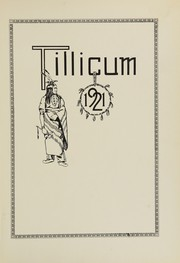 Page 5, 1921 Edition, Oakville High School - Tillicum Yearbook (Oakville, WA) online yearbook collection
