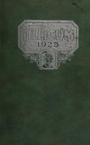 Page 1, 1925 Edition, Oakville High School - Tillicum Yearbook (Oakville, WA) online yearbook collection