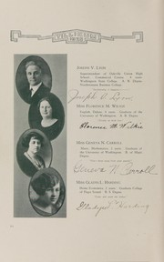 Page 10, 1925 Edition, Oakville High School - Tillicum Yearbook (Oakville, WA) online yearbook collection