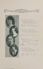 Page 11, 1925 Edition, Oakville High School - Tillicum Yearbook (Oakville, WA) online yearbook collection