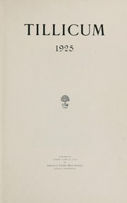 Page 7, 1925 Edition, Oakville High School - Tillicum Yearbook (Oakville, WA) online yearbook collection