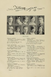 Page 10, 1928 Edition, Oakville High School - Tillicum Yearbook (Oakville, WA) online yearbook collection