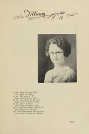 Page 7, 1928 Edition, Oakville High School - Tillicum Yearbook (Oakville, WA) online yearbook collection