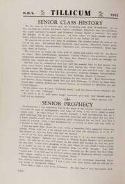 Page 12, 1932 Edition, Oakville High School - Tillicum Yearbook (Oakville, WA) online yearbook collection