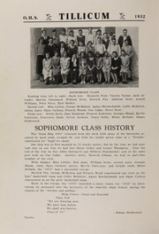 Page 16, 1932 Edition, Oakville High School - Tillicum Yearbook (Oakville, WA) online yearbook collection
