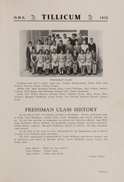 Page 17, 1932 Edition, Oakville High School - Tillicum Yearbook (Oakville, WA) online yearbook collection