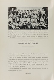 Page 12, 1939 Edition, Oakville High School - Tillicum Yearbook (Oakville, WA) online yearbook collection