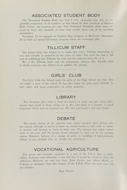Page 16, 1939 Edition, Oakville High School - Tillicum Yearbook (Oakville, WA) online yearbook collection