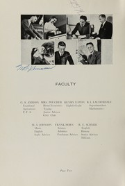 Page 6, 1939 Edition, Oakville High School - Tillicum Yearbook (Oakville, WA) online yearbook collection