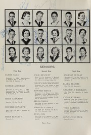 Page 8, 1939 Edition, Oakville High School - Tillicum Yearbook (Oakville, WA) online yearbook collection