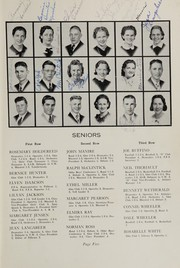 Page 9, 1939 Edition, Oakville High School - Tillicum Yearbook (Oakville, WA) online yearbook collection