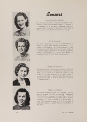 Page 10, 1951 Edition, Oakville High School - Tillicum Yearbook (Oakville, WA) online yearbook collection