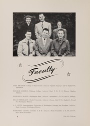 Page 8, 1951 Edition, Oakville High School - Tillicum Yearbook (Oakville, WA) online yearbook collection