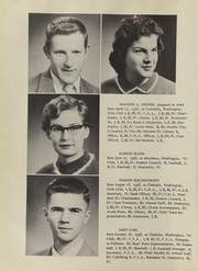 Page 14, 1956 Edition, Oakville High School - Tillicum Yearbook (Oakville, WA) online yearbook collection