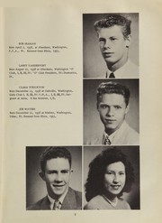 Page 17, 1956 Edition, Oakville High School - Tillicum Yearbook (Oakville, WA) online yearbook collection