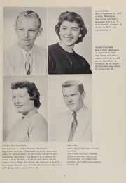 Page 15, 1957 Edition, Oakville High School - Tillicum Yearbook (Oakville, WA) online yearbook collection