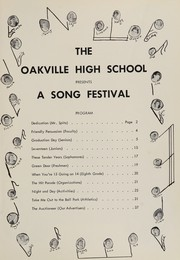 Page 9, 1957 Edition, Oakville High School - Tillicum Yearbook (Oakville, WA) online yearbook collection