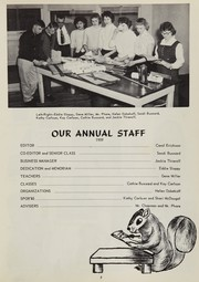 Page 9, 1959 Edition, Oakville High School - Tillicum Yearbook (Oakville, WA) online yearbook collection