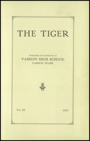 Page 5, 1927 Edition, Vashon Island High School - Vashonian Yearbook (Vashon, WA) online yearbook collection