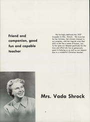 Page 8, 1957 Edition, Northwest Christian High School - Crusader Yearbook (Spokane, WA) online yearbook collection
