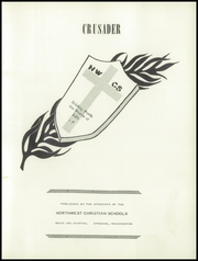 Page 7, 1958 Edition, Northwest Christian High School - Crusader Yearbook (Spokane, WA) online yearbook collection