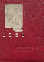 Page 1, 1954 Edition, Crescent High School - Log Yearbook (Joyce, WA) online yearbook collection